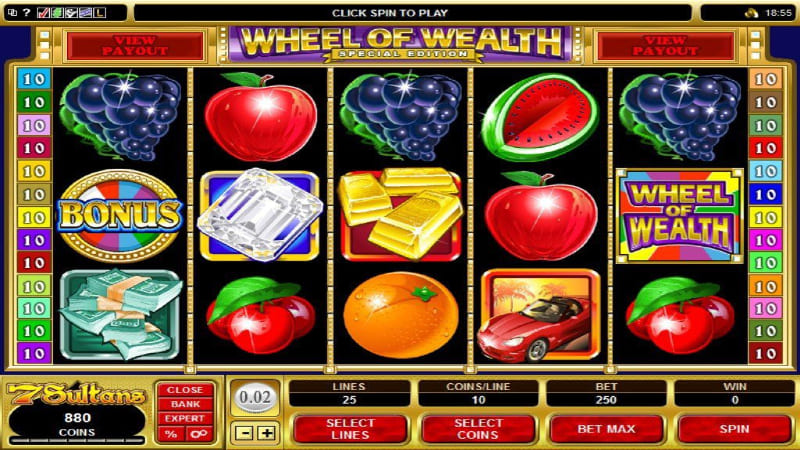 The most popular online slot gambling site game variants